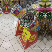 Lollipop Cardboard Display, POS Cuggrated Paper Display for Candy