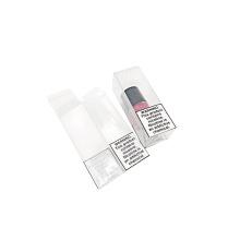 Cajas de embalaje plegables de plástico transparente de plástico personalizado