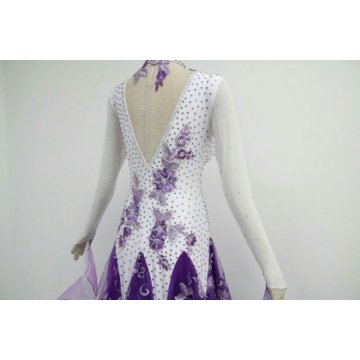 V back Ballroom dressアマゾン