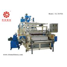PE-Folien-Doppelschneckenextruder-Kunststoff-Stretchfolienmaschine