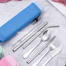 304 Stainless Steel Cutlery Outdoor Camping Set