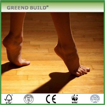 Chão de dança de madeira de carvalho natural