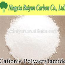Полимерный катионный полиакриламид порошок для обработки питьевой воды