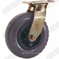 Heavy Duty Foaming Rubber Swivel Caster (Black) (GD4220)