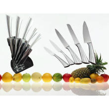 5PCS Stainless Steel Handle Kitchen Knife Set (SE-3569)