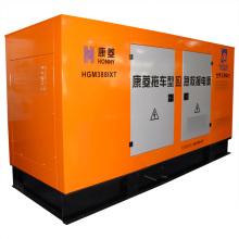 Conjunto de gerador interno diesel / gás à prova de som
