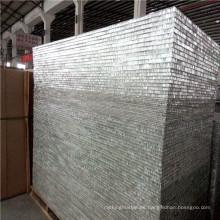 Paneles de partición de pared de panal Alumnium serie 3003