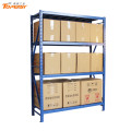 warehouse mold storage shelf rack with bins
