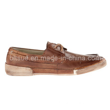 Healthy Boat Leather Shoes for Men