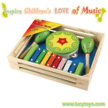 Горячая продажа новых деревянных музыкальных игрушек для детей