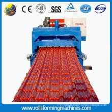 Tuile trapézoïdale de toit en aluminium faisant la machine