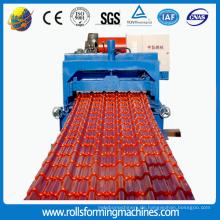 Glasierte Ziegel-Roofing Blatt-Platten-Rolle, die Maschine bildet