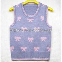 2016 cashmere children sweater vest