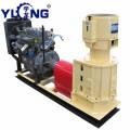 Diesel pellet press machine