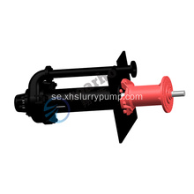 40PVL-SPR Längs Sump Slurry Gummi Pump
