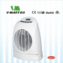 V-Mart LCD Electric Mini Fan Heater With Oscillation SRF302B