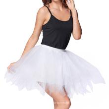Катя Касин мягкий тюль сетка Белый Кринолин Нижняя юбка Подъюбник для Ретро платья KK000447-2