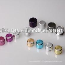 parfum de collier en aluminium