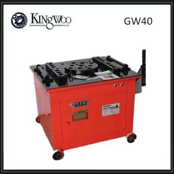 Doblador de barra de barra de acero de construcción GW40