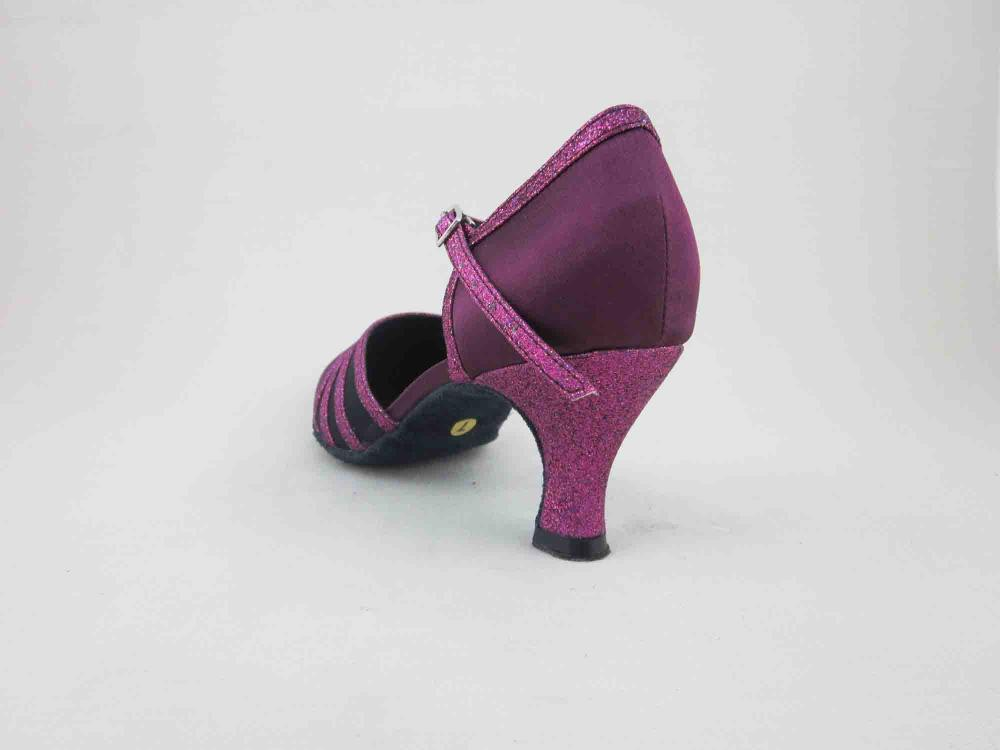2 Inch Heel Purple Dance Shoes