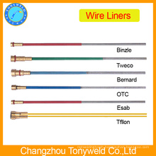mig welding torch parts Binzel wire liner 0.8-1.0