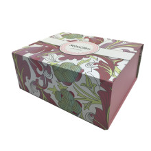 Handmade foldable paper garment packaging box