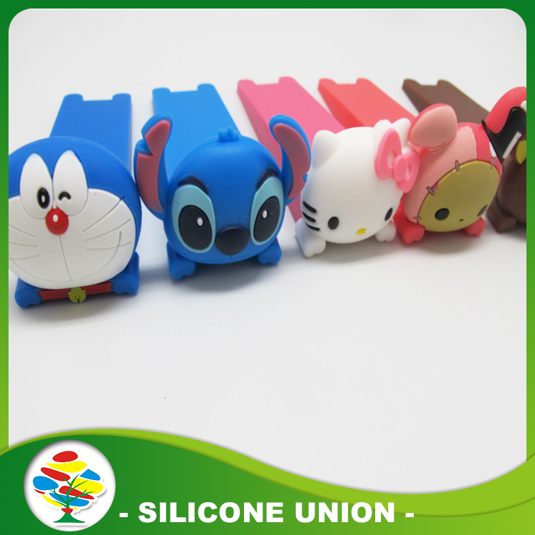 silicone cartoon door stopper