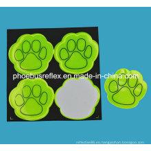 Piel de perro certificada CE Pegatina reflectante Protección de seguridad