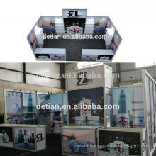 Detian Offer 10X20ft portable exhibition booth display trade show equipment