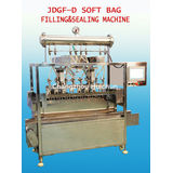 Ac 220v 50-60hz Micro-computer Plastic Continuous Bag Filling And Sealing Machine