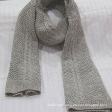 factory supply winter pure cashmere scarf knit 100% casmere scarf