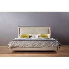 Última moda cama doble, cama de la tela (A21)