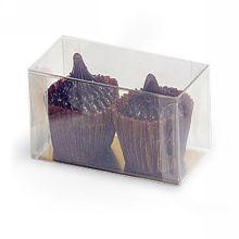 Caixa de plástico doce