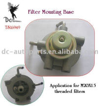 La aleación de aluminio a presión la fundición para la base de la caja del filtro de aceite