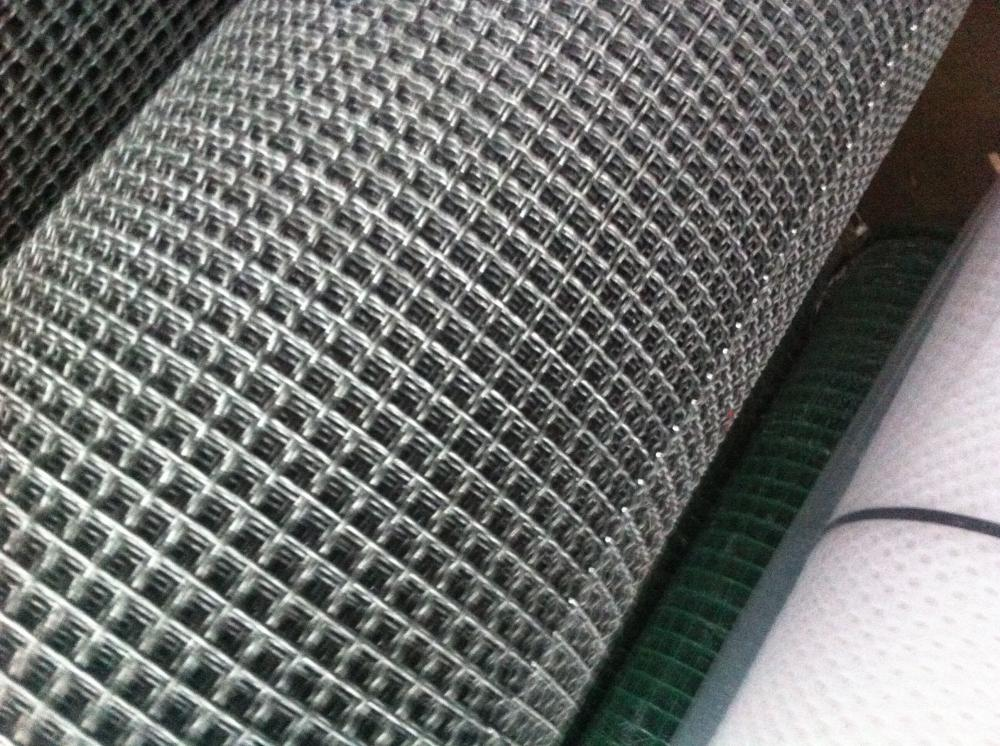 Square Galvanisez Crimped Wire Mesh