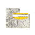 Роскошный кожаный держатель для визиток Python для мужчин