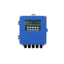 Wall mounted ultrasonic flowmeter