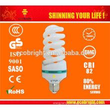QUENTE! T4 total espiral cfl lâmpada bulbo 10000H CE qualidade