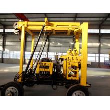 Hydraulische Bohrmaschine Anhänger-Montiert Crawler-Mounted Water Drilling Rig mit großen Rabatt