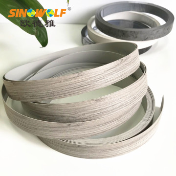 Furniture ABS Edge Banding Popular Wood Grain Color