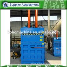 PET Flasche hydraulische vertikale Ballenpresse
