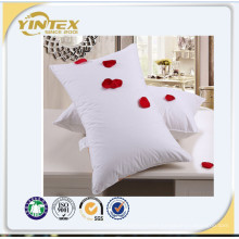 Hotel Neck Pillow with Goose Down or Feather Filling and cotton Cover