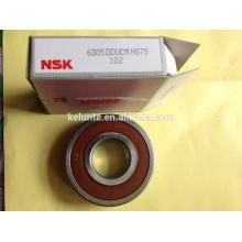 Rodamiento de bolas profundo NSK 6301ddu 6305ddu 6206ddu bearing