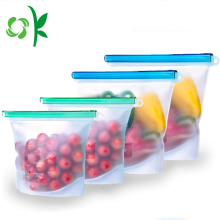 BPA Free Silicone Food Reusable Storage Bag