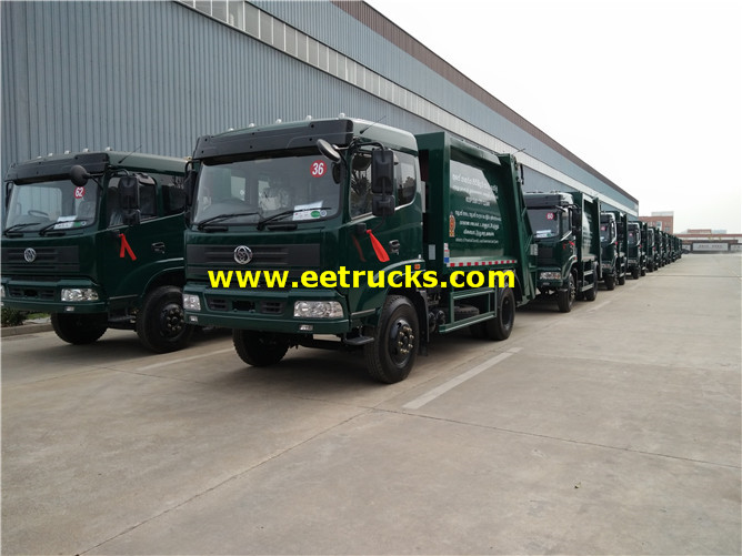 12ton Waste Compressed Vehicles