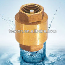 Brass Spring Check Valve Lead free vertical check