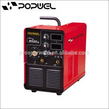 2015 Venta caliente Portable mig-200 igbt inversor co2 mig máquina de soldar