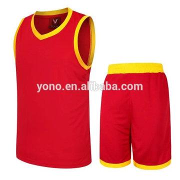 2017 mejor calidad 100% poliéster sublimación baloncesto jersey