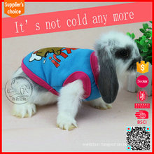 Hot selling fashion knitted pet clothes for rabbits