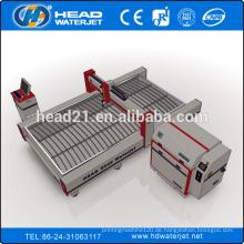 Metall, Stein, Glas Wasserstrahl Schneidemaschine 2030 mit 380Mpa Verstärker Pumpe